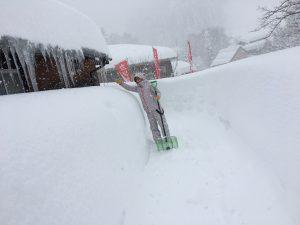 モリス荘の雪