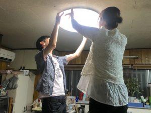 台所の蛍光灯