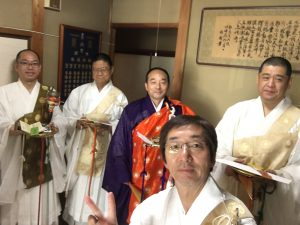 本浄寺さんで