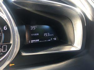 温度計が39℃・・・