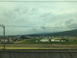 お隠れの富士山