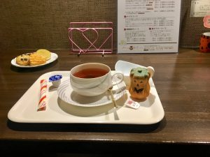施術後の紅茶