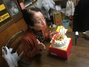 ボンヌ・ノノさんのケーキ!