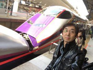 東京から山形新幹線へ
