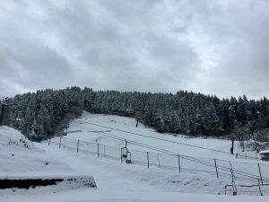 昨日のわかさ氷ノ山ゲレンデ