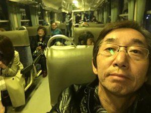若桜鉄道さくら号車内