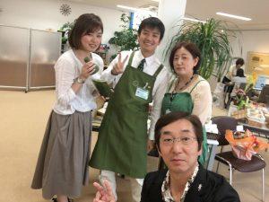 山本茶舗さんのスタッフ