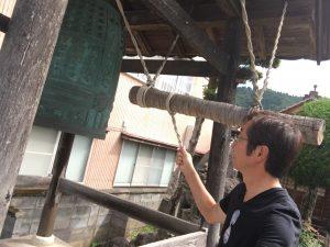 蓮教寺の鐘楼