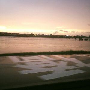 昨日の千代川
