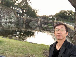 ♫ここがここが二重橋〜♫