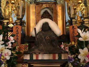蓮教寺の日蓮聖人