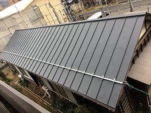 屋根替え終了