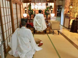 学成寺の冬至祈願祭!