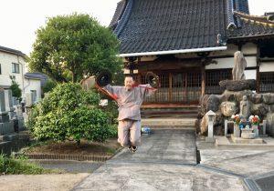 桜井さんもジャンプ!