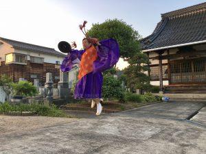 ジャンプ~!