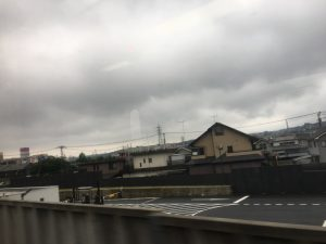 またも、富士山は見えず