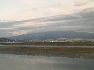 富士川あたりから