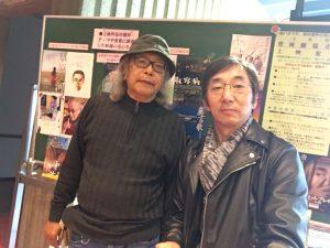 鳥取コミュニティーシネマ代表の清水さんと