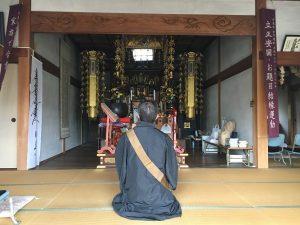 乗福寺さんの本堂