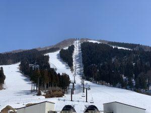 ジャム勝山スキー場頂上