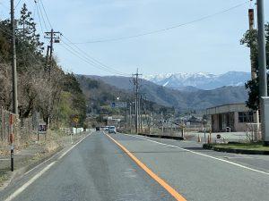 徳丸付近から遥か氷ノ山が