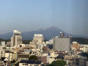 米子市からの大山