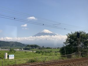 東海道線からも