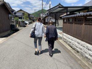 母と奥さん