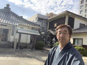 本浄寺さん境内