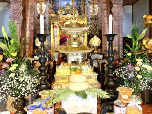 日蓮聖人とお供え餅
