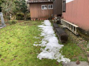 正栄寺さんの雪