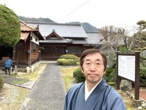 気温7℃の蓮教寺