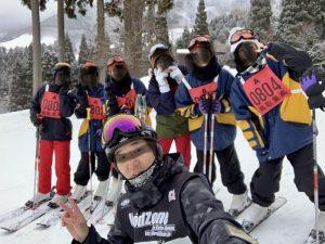 去年のスキー研修