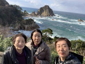 城原海岸の景色
