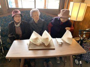 おばあちゃん三人