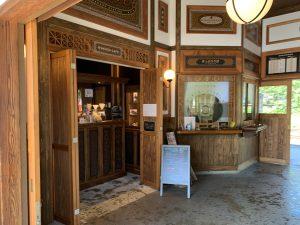 若桜駅のカフェ