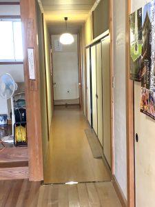綺麗になった廊下