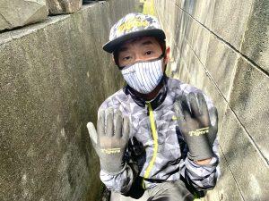 怪しい作業用手袋