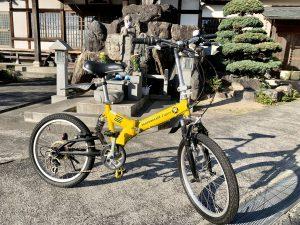怪しげな自転車